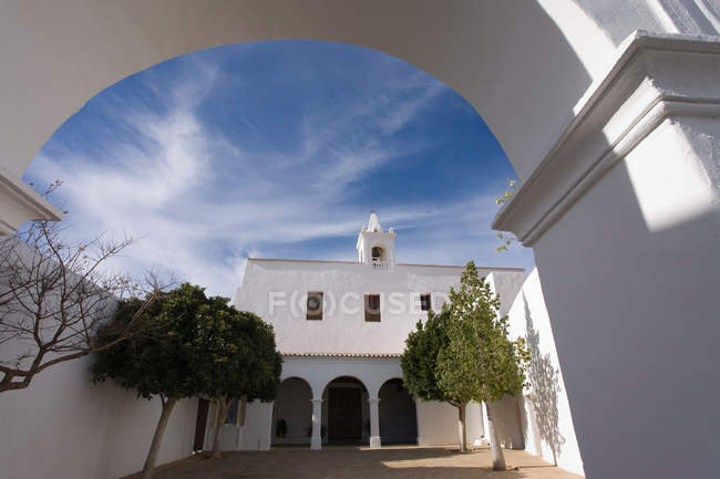 Sant Miquel de Balansat church — стокове фото