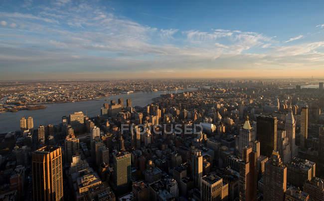 Empire State Building de Manhattan — Fotografia de Stock