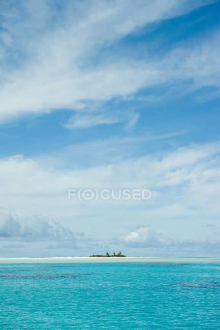 Malerischer Blick auf den Südpazifik — Stockfoto