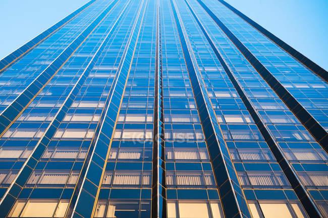 Vista obliqua del grattacielo — Foto stock