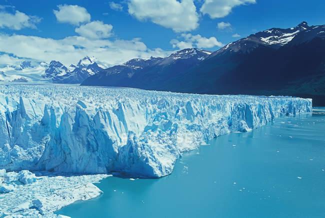 Glaciares do Parque Nacional — Fotografia de Stock