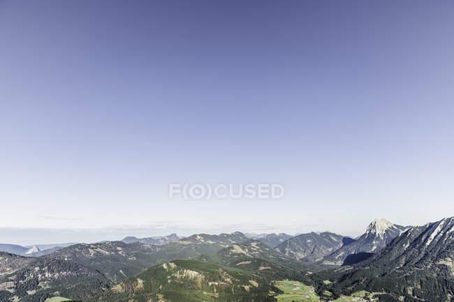 Fernblick über Berg Landschaft, Achensee, Tirol, Österreich — Stockfoto