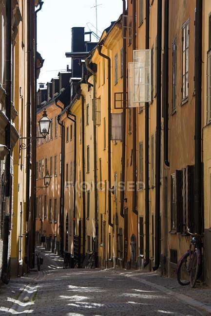Via a gamla stan stockholm — Foto stock