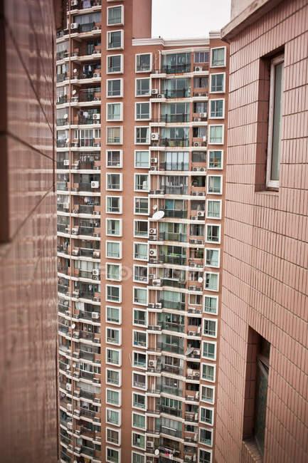 Edifici residenziali urbani — Foto stock