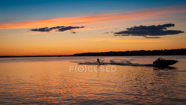 Hombre acuatico, Lulea, Laponia, Suecia - foto de stock
