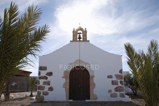 Вид из часовни, Фуэртевентура, Канарские острова, Испания — стоковое фото
