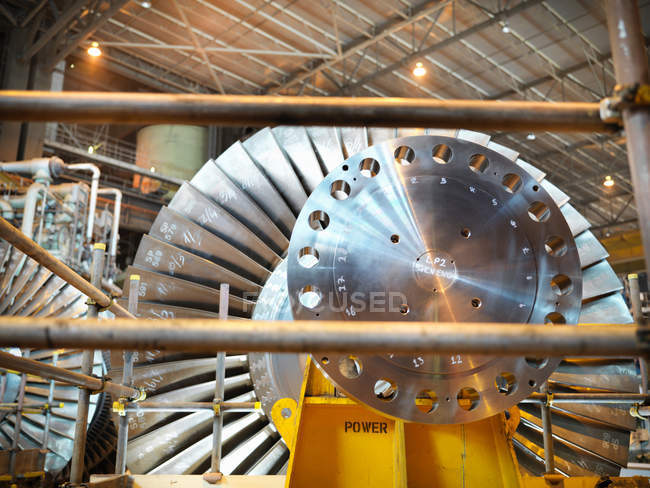 Turbine in power station — Stock Photo
