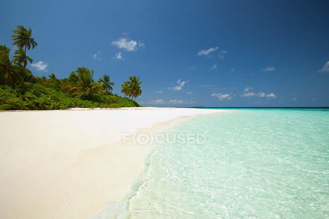 Вид острова Baughagello — стоковое фото