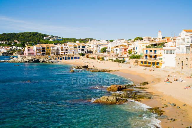 Calella de Palafrugell, Costa Brava, Katalonien, Spanien — Stockfoto