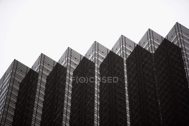 Reflective modern building — Stock Photo