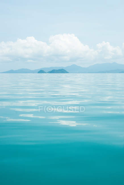 Scenic view of Tranquil scene, Koh Samui, Thailand — Stock Photo