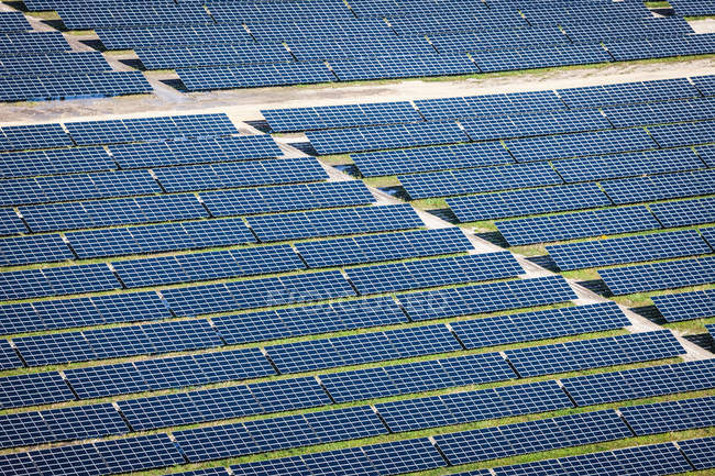 Photovoltaic power plant — Stock Photo