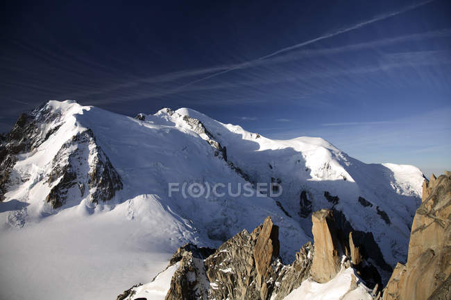 Mountains in french alps — Stock Photo