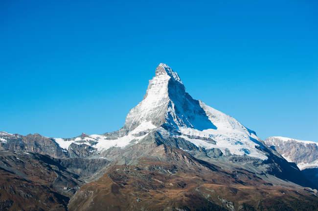 Scenic view of Matterhorn, Pennine Alps, Switzerland — Stock Photo