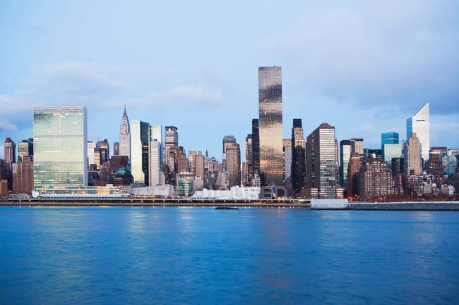 Skyline von New York — Stockfoto