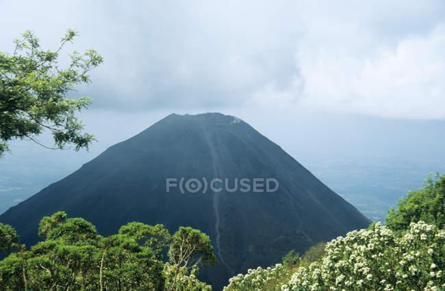 Мальовничий вид на Izalco вулкана Ель-Сальвадор — стокове фото
