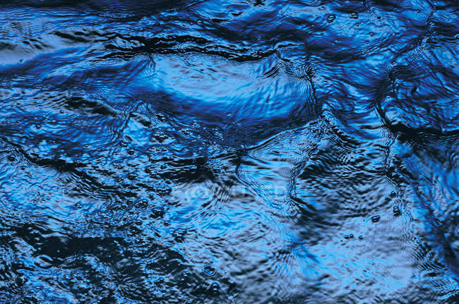 Rippled water surface, full frame — Stock Photo