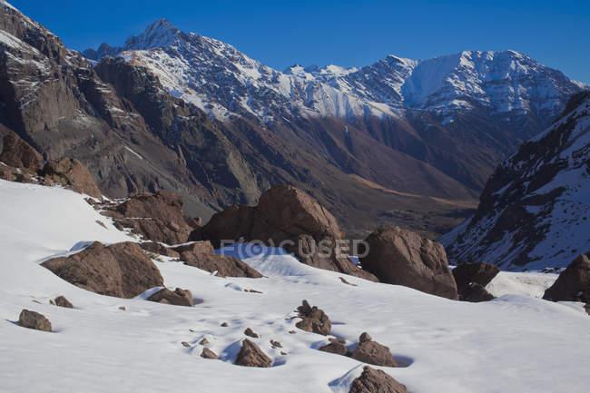 Гора Сантьяго, Чилі., — стокове фото