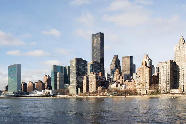 Skyline di New York — Foto stock