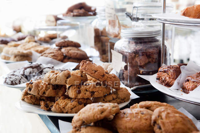 Gluten free pastries — Stock Photo