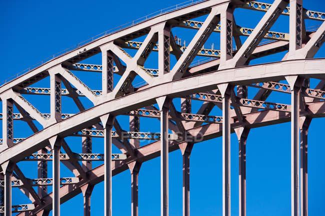 Infrastrutture di ponti urbani — Foto stock