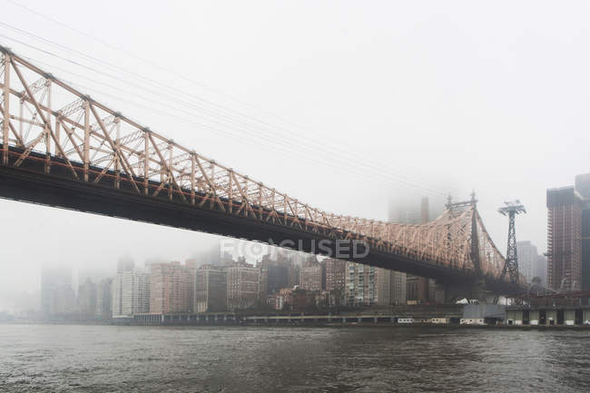 Queensboro-Brücke in New York City — Stockfoto