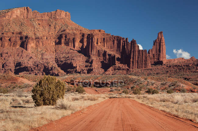 Fisher Towers rock formations — Stock Photo