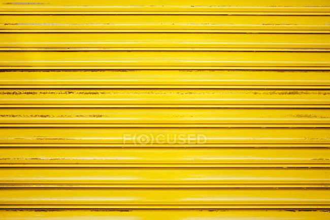 Жовтий затвор закрито — стокове фото