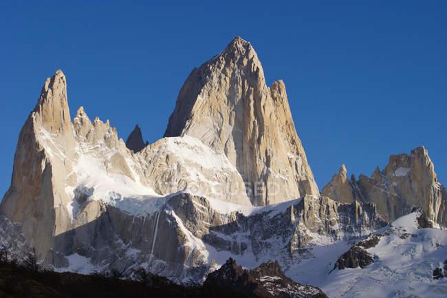 Schöner weg zum fitz roy in der nähe von el chalten, patagonien, argentinien — Stockfoto