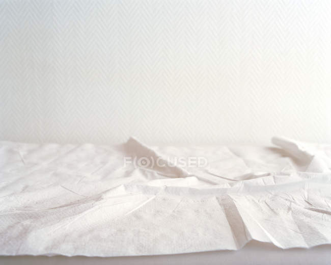 Crumpled paper sheets — Stock Photo