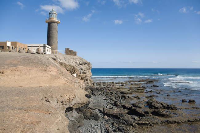 Jandia lighthouse, Jandia peninsula — стоковое фото