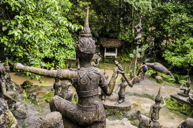 Secret Buddha Garden, Koh Samui, Thailand — Stock Photo