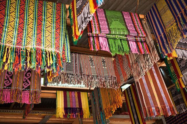 Tais ринку в ділі Східного Тимору — стокове фото