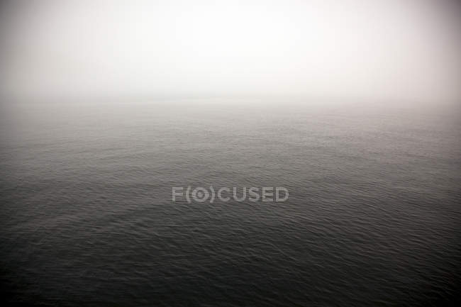 Water surface in foggy weather — Stock Photo