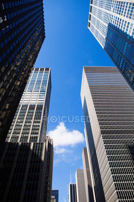 Rascacielos de nueva york - foto de stock