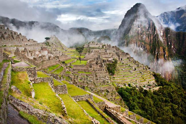 Мачу-Пикчу, Перу — стоковое фото