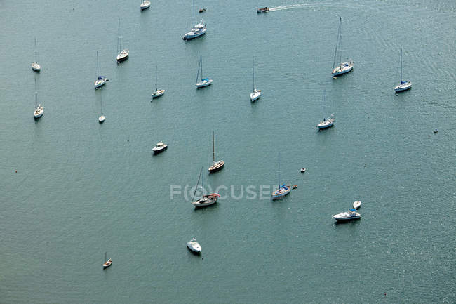 View of Boats on water — Stock Photo