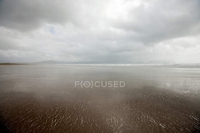 Blick auf den Strand — Stockfoto