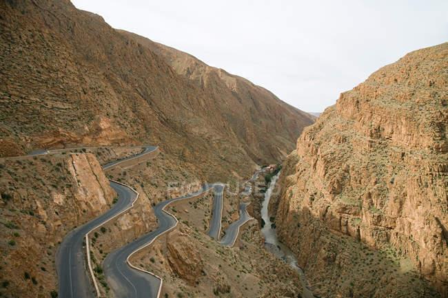 Todra Schlucht im Atlas-Gebirge — Stockfoto