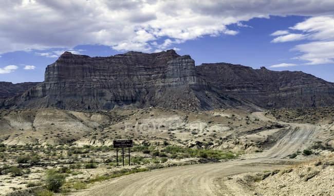 Глен Каньон Национальный заповедник области, Смоки Маунтин-роуд, бэккантри, Глен Каньон, Юта, США — стоковое фото