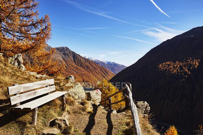 Vista panorâmica de Schnalstal, Tirol do Sul, Itália — Fotografia de Stock
