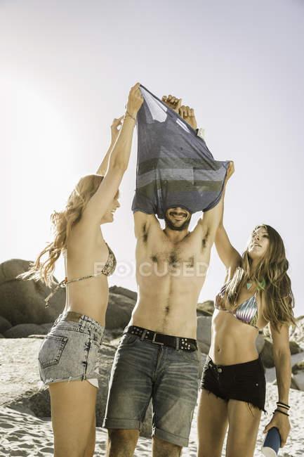 BeachCape Adulti Maglietta Al Dell'uomo Amici Toglie Che TownSud 4LqRj53A