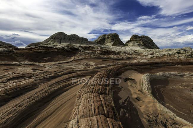 Живописный вид на Уайт Пойнт, Пария Плато, Аризона, США — стоковое фото