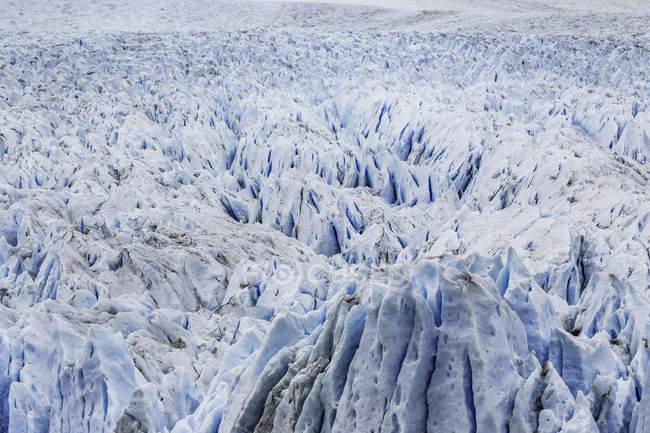 Ver quadro completo do Glaciar Perito Moreno, Parque Nacional Los Glaciares, Patagônia, Chile — Fotografia de Stock