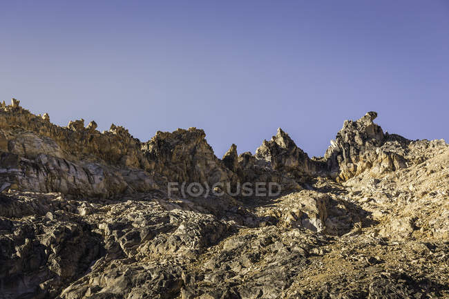 Paisaje montañoso, Parque Nacional Nahuel Huapi, Río Negro, Argentina - foto de stock