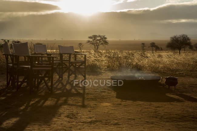 Parque Nacional de Tarangire, Tanzânia — Fotografia de Stock