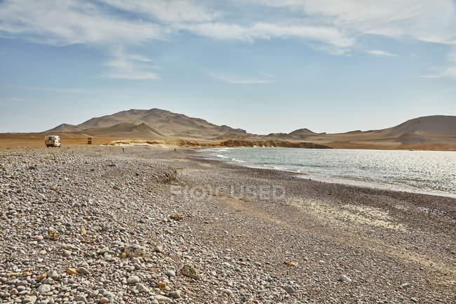 Пейзаж вид на Салінас де Otuma, Іка, Перу — стокове фото