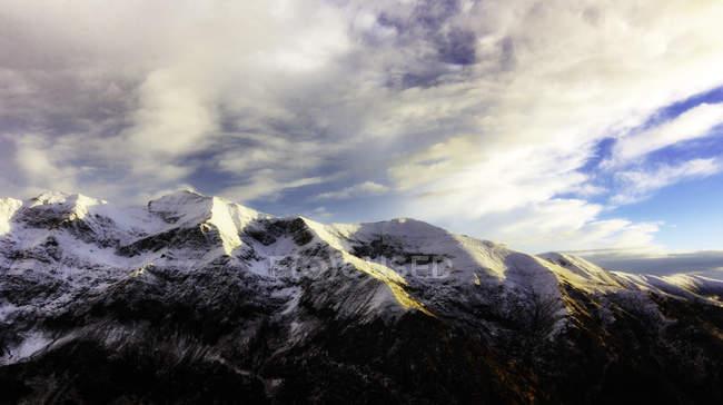 Scenic view of mountains, Fagaras, Brasov, Romania, Europe — Stock Photo
