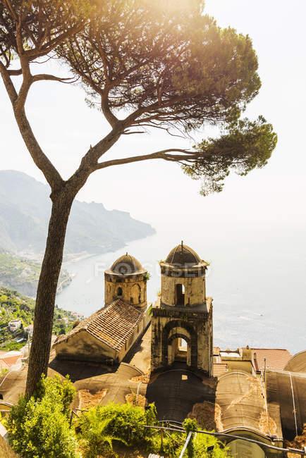 Вилла Руфоло, Равелло, побережье Амальфи, Италия — стоковое фото