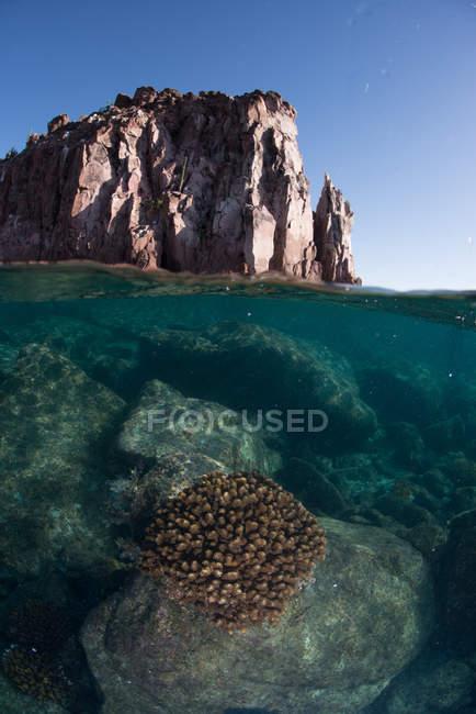 Isla Espiritu Santo, La Paz, Baja California Sur, Mexico — Fotografia de Stock